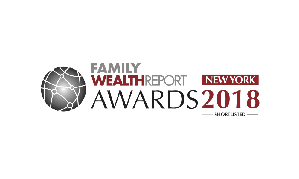 Legacy Family Office Shortlisted for the 2018 Family Wealth Report Awards